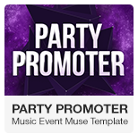 MixMaker - DJ Website Muse Template