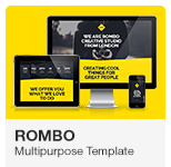 Rombo - Multipurpose Portfolio Adobe Muse Template