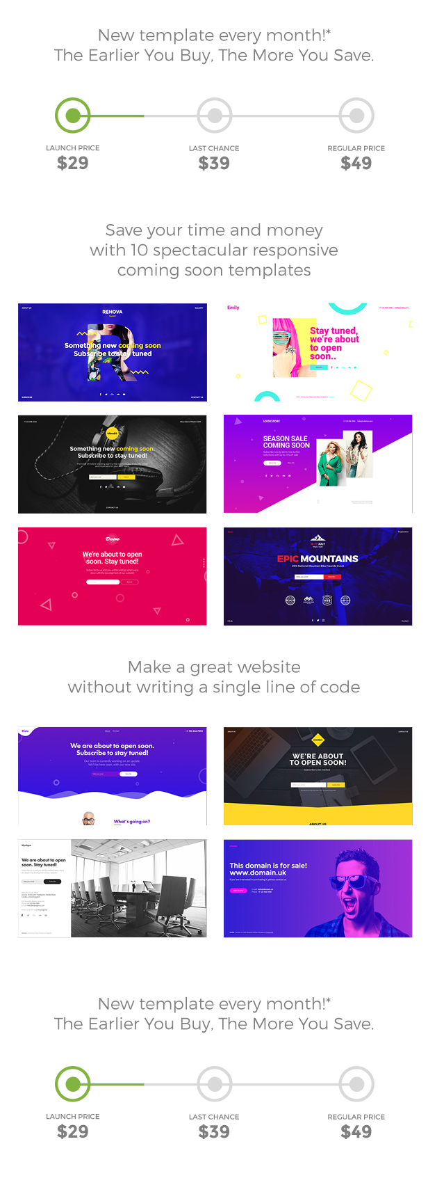 BigHit – Coming Quickly Responsive Muse Templates Pack (Miscellaneous)