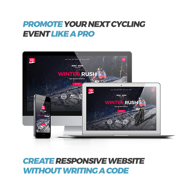 Cyclent – Mountain Bike Event Template - 1