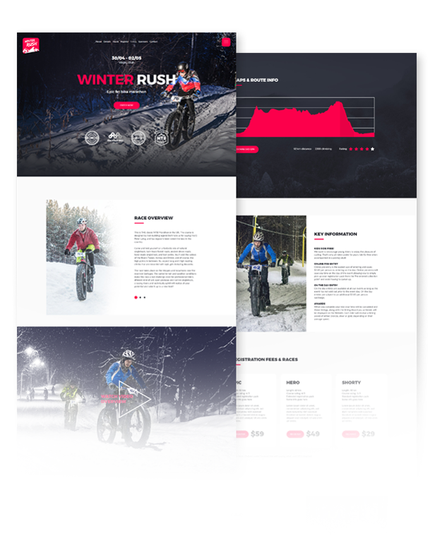 Cyclent – Mountain Bike Event Template - 2
