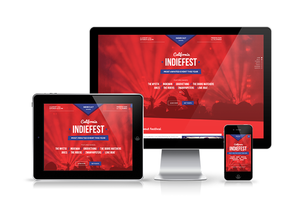 IndieFest - Music Event Promo Muse Template
