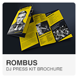 Rombus - DJ Press Kit template