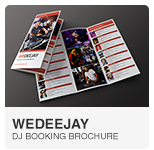 WeDeeJay DJ Booking Template